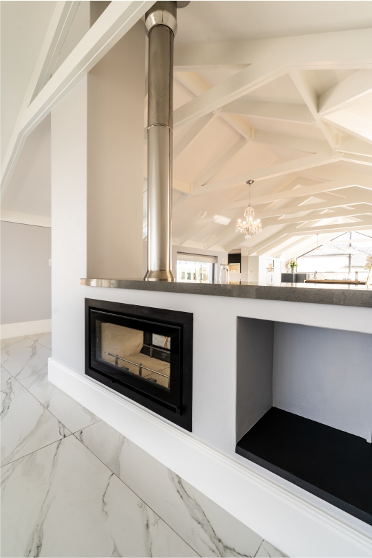 Residential | Atlantic Beach Project | Fire Place