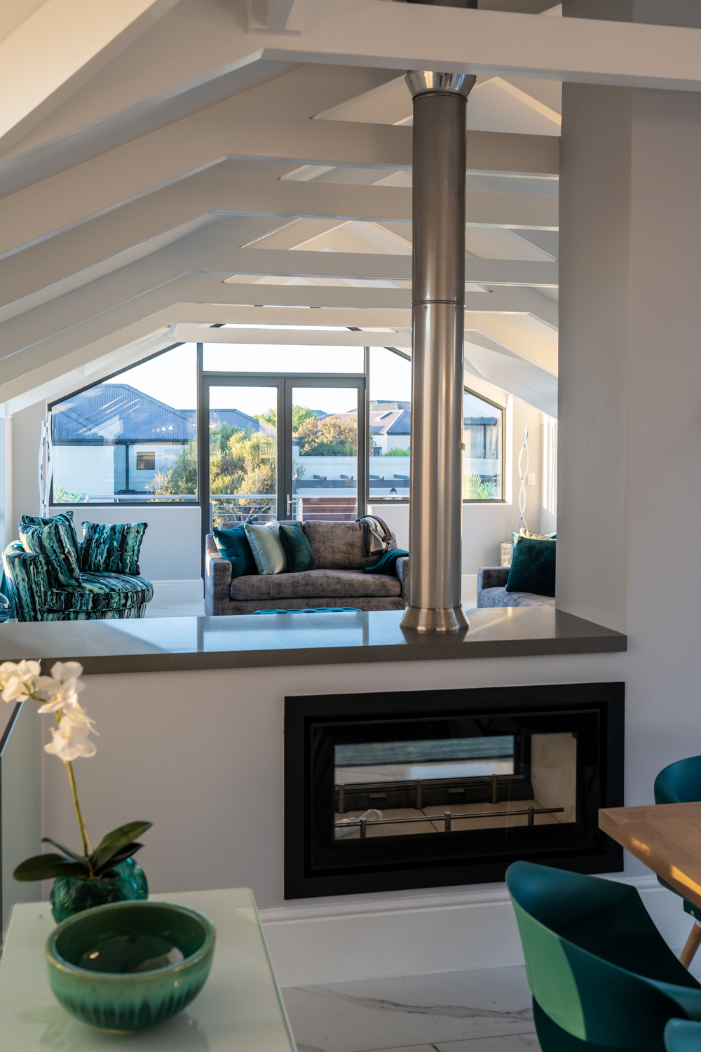 Project | Atlantic Beach Project Fire Place