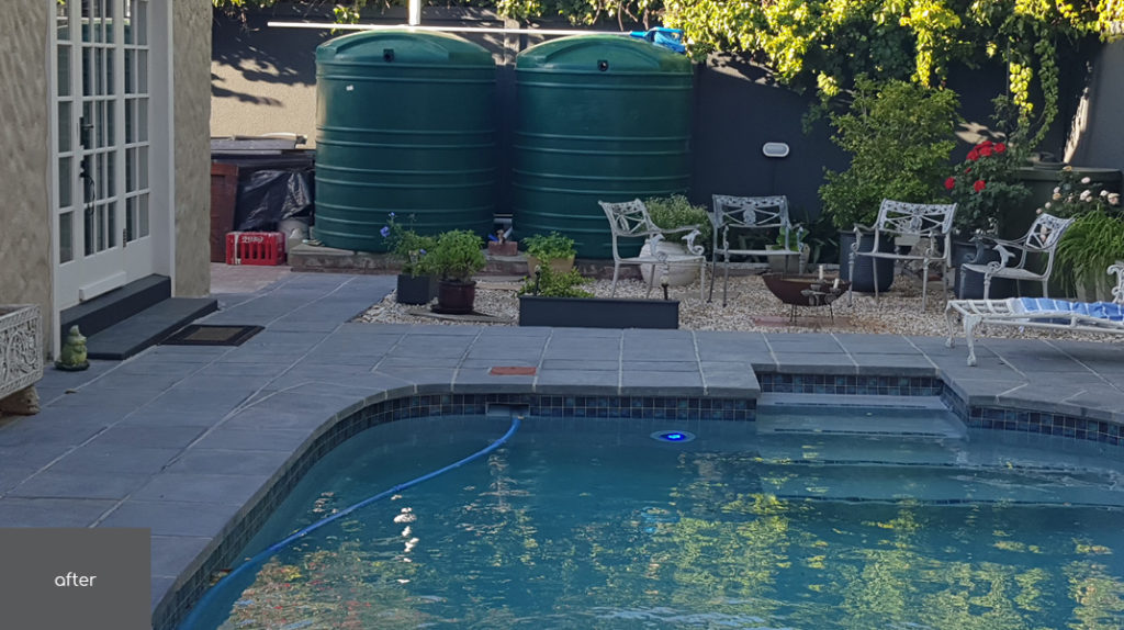 Project | No 45 Claremont Pool Area After