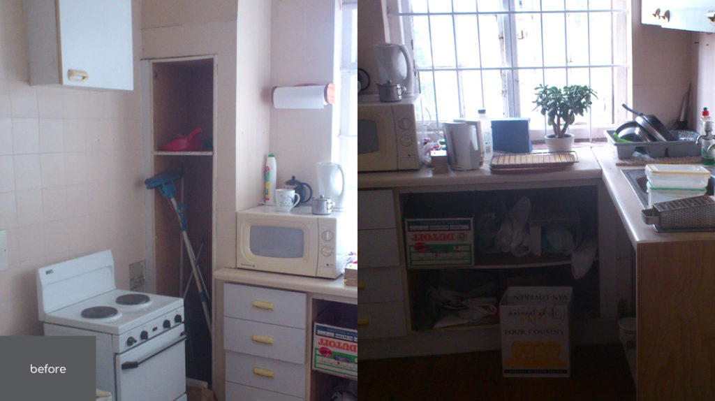 Project | Flat Dovale | Kitchen Before
