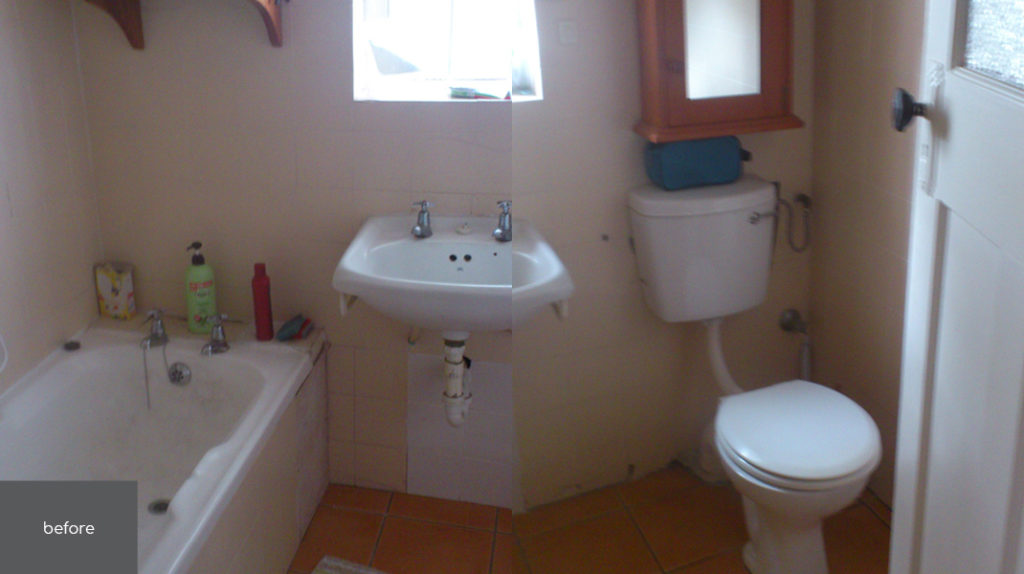 Project | Flat Dovale | Bathroom Before